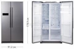 Холодильник SAMSUNG RS 57 K 4000 SA/UA