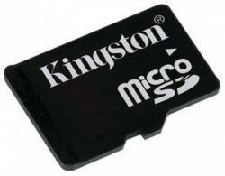 Карта памяти Kingston microSD 16 GB Class 4 без адаптера (SDC4/16GBSP)