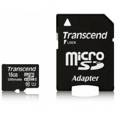 Карта памяти Transcend microSDHC 16GB Class 10 UHS