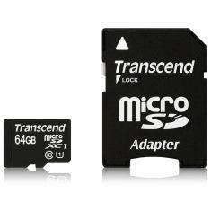 Карта памяти Transcend microSDXC 64GB Class 10 UHS