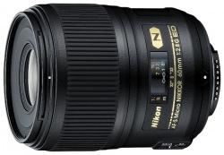 Объектив Nikon 60mm f/2.8G ED AF-S Micro Nikkor (JAA632DB)