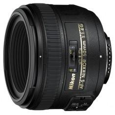 Объектив Nikon Nikkor 50 mm f/1.4G AF-S (JAA014DA)