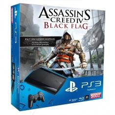 Консоль Sony PlayStation 3 Super Slim 500 GB + Assassin's Creed IV