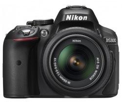 Фотокамера NIKON D5300 18-55 VR AF-P Kit + сумка + карта SD 64GB
