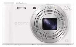Фотоаппарат цифровой SONY WX350 White