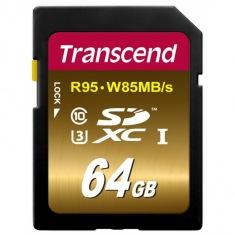 Карта памяти Transcend Ultimate SDXC 64GB Class 10