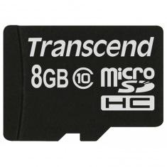 Карта памяти Transcend 8Gb microSD Class 10 (TS8GUSDC10)
