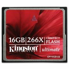 Карта памяти Kingston 64 Gb CompactFlash Ultimate 266x (CF/64Gb-U2)