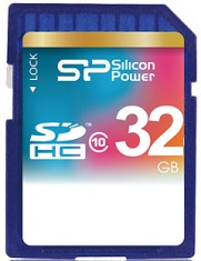 Карта памяти Card SD Silicon Power SDHC 32GB Class 10