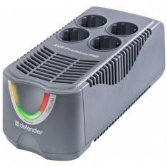 Стабилизатор напряжения DEFENDER AVR Premium 1000i 500Вт