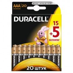Батарейки DURACELL LR03 (AAA) MN2400 (15+5 шт.)