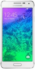 Смартфон SAMSUNG Galaxy Alpha G850F Dazzling White