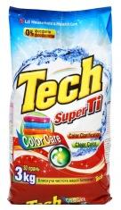 Стиральный порошок-концентрат TECH Super Ti 3 кг для цветного