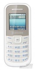 Мобильный телефон Samsung GT-E1200 white