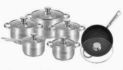 Набор посуды KRAUFF 26-242-008 12 предметов