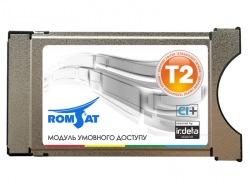 CAM - модуль T2 ROMSAT Irdeto CCA