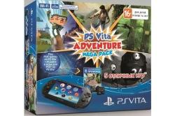 Консоль PS Vita Black Wi-Fi +8 Gb+5 games