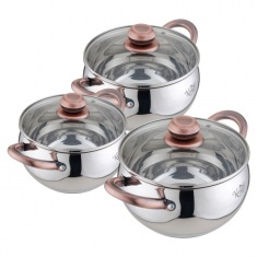 Набор посуды 6 предметов Krauff 26-242-002