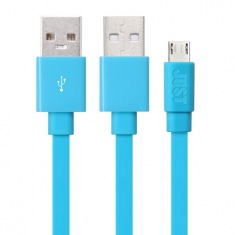 Кабель JUST Freedom Micro USB Cable Blue (MCR-FRDM-BL)