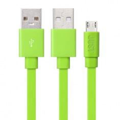 Кабель JUST Freedom Micro USB Green