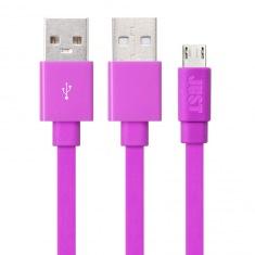 Кабель JUST Freedom Micro USB Pink