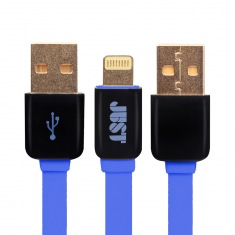 Кабель JUST Rainbow Lighting USB Cable Blue (LGTNG-RNBW-BL)