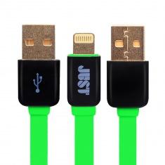 Кабель JUST Rainbow Lighting USB Green