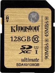 Карта памяти KINGSTON 128GB SDXC Class 10 UHS-I