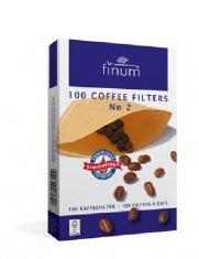 Фильтры для кофе FINUM 1х2/100 шт.