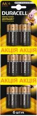 Батарейки DURACELL LR06 MN1500 (6 шт. х 3)