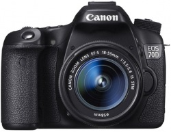 Фотоаппарат цифровой CANON EOS 70D 18-55mm IS STM WG KIT
