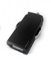 Автомобильное зарядное устройство GLOBAL MSH-SC-031 (1USB2.1A) black