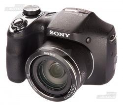 Фотокамера SONY H300 Black + карта SD 32GB