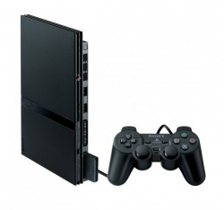 Консоль Sony PlayStation 2 Slim