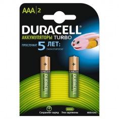 Аккумулятор DURACELL HR03 (AAA) 850mAh (2шт)