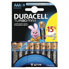 Батарейки DURACELL LR03 MN2400 KPD Turbo бл.8 шт