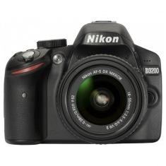 Фотоаппарат NIKON D3200 18-55 VR II + SLR Shoulder Black