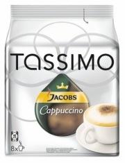 Кофе Tassimo Якобс Капучино 264 г