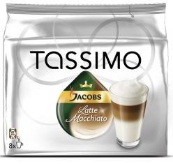 Кофе Tassimo Якобс Макиато 480 г