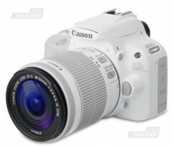 Фотоаппарат CANON EOS 100D 18-55 IS STM White