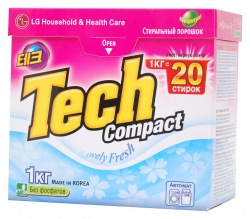 Стиральный порошок Tech Lovely Fresh Compact 1кг