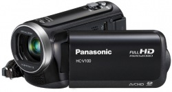 Цифровая видеокамера Panasonic HC-V100 Black