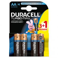 Батарейки DURACELL AA MN1500 TURBO (3+1 шт)