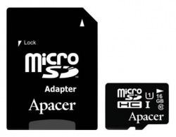 Карта памяти Apacer 16GB microSDHC UHS-I Class10 w