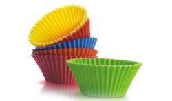 Набор силиконовых форм для кексов, 6 шт. Festa3126