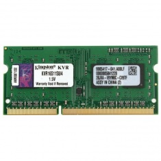 Память SoDimm Kingston 1x4GB DDR3 1600MHz (KVR16S11S8/4G)