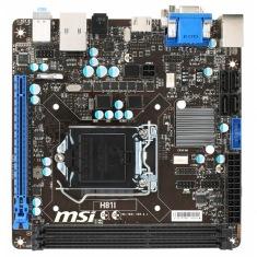 Материнская плата MSI H81I (s1150, Intel H81) MiniITX
