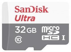 Карта памяти SanDisk Ultra 32GB microSDHC Class 10