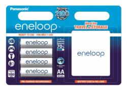 Аккумуляторы Panasonic Eneloop AA 1900 4BP mAh NI-MH+case (BK-3MCCEC4BE)