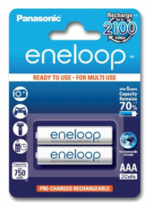Аккумулятор Panasonic Eneloop AAA 750 2BP mAh NI-MH (BK-4MCCE/2BE)
